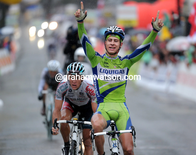 PETER SAGAN ON STAGE FOUR OF THE TOUR DE ROMANDIE