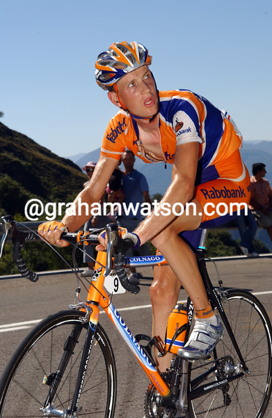 Peter Weening at the 2006 Tour of Spain