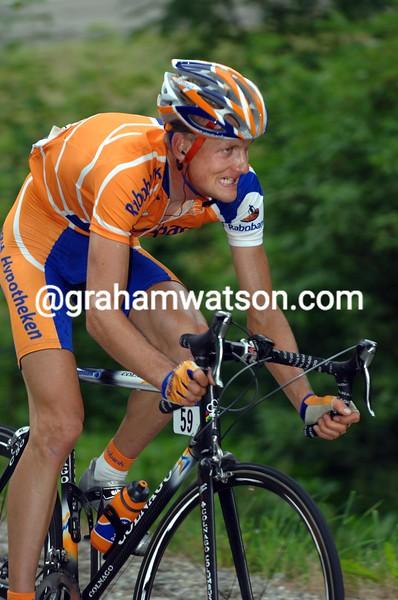 Peter Weening at the 2005 Tour de France