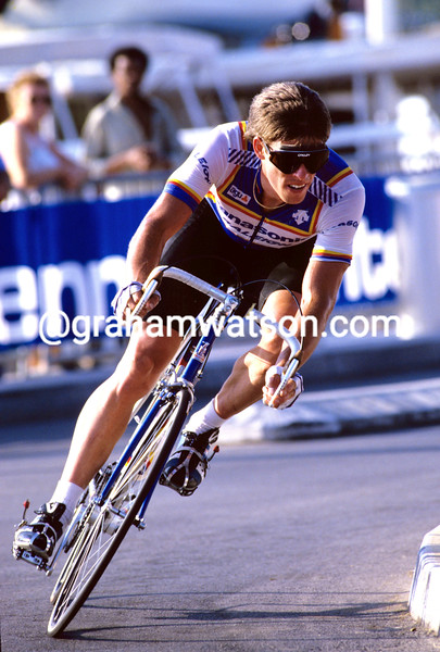 Phil Anderson at the 1985 G. P.  des Nations