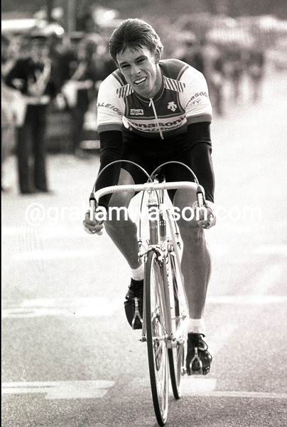 Phil Anderson in the 1986 Paris-Nice