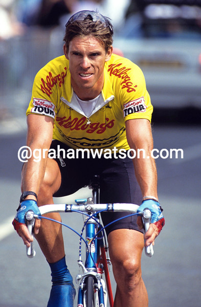 Phil Anderson in the 1991 Kellogg's Tour of Britain
