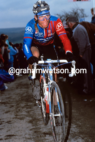 Phil Anderson at the 1992 Liege-Bastogne-Liege