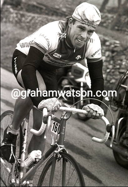 PHIL ANDERSON in the 1984 Milan-San Remo