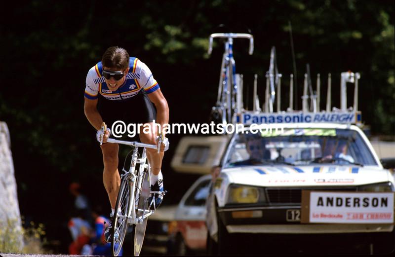 Phil Anderson at the 1985 Tour de France