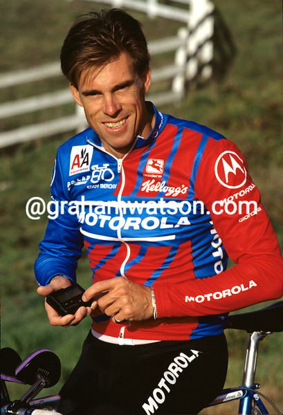 Phil Anderson at the 1992 Motorola training camp