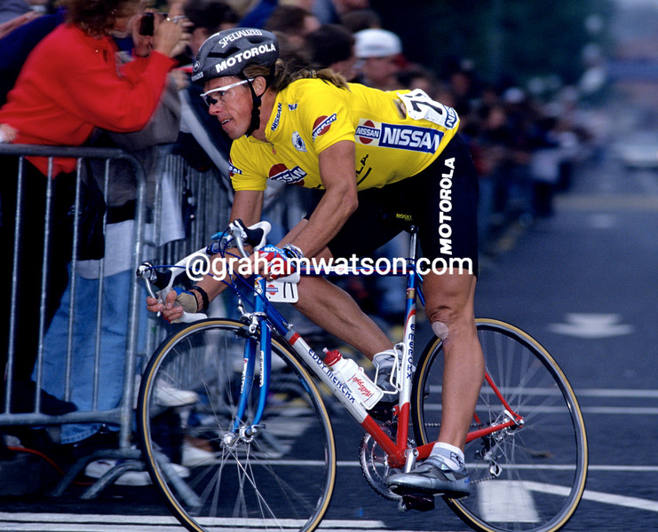 Phil Anderson in the 1992 Nissan Classic
