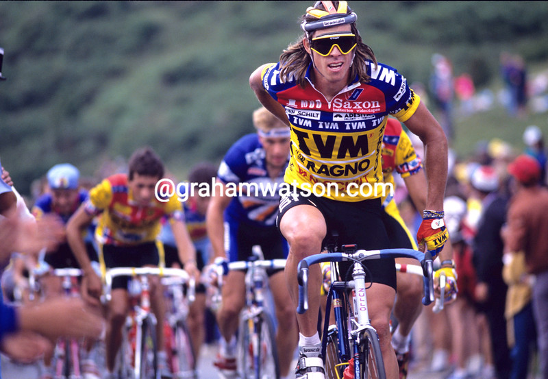 Phil Anderson in the 1988 Tour de France