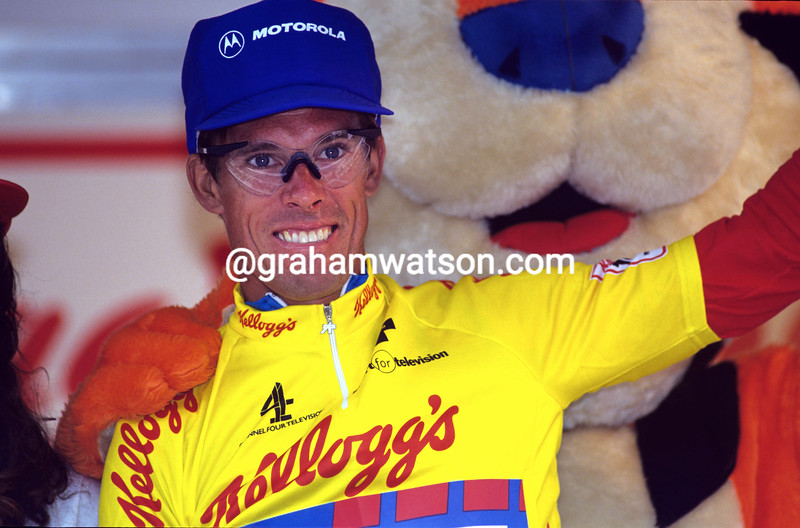Phil Anderson in the 1992 Kellogg's Tour of Britain