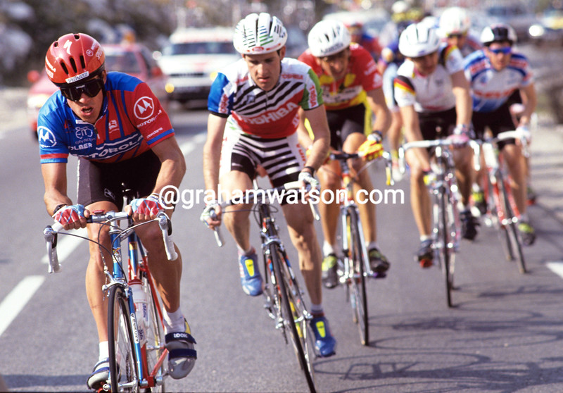 Phil Anderson in the 1992 Paris-Nice