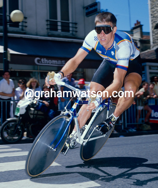 Phil Anderson in the 1986 Tour de France