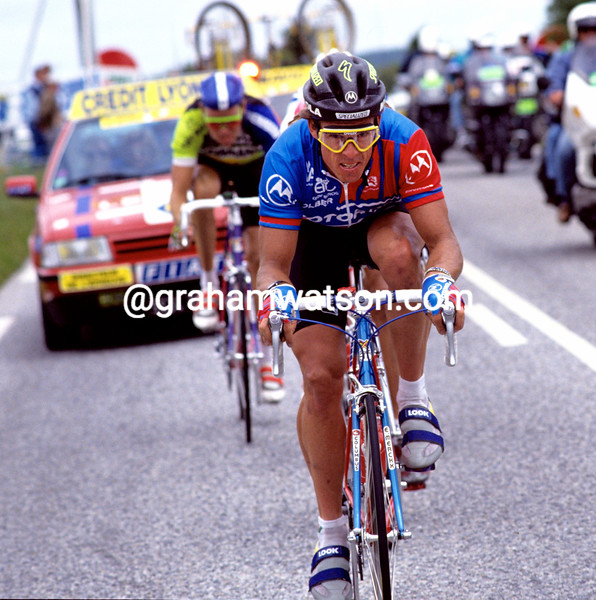 Phil Anderson in the 1991 Tour de France