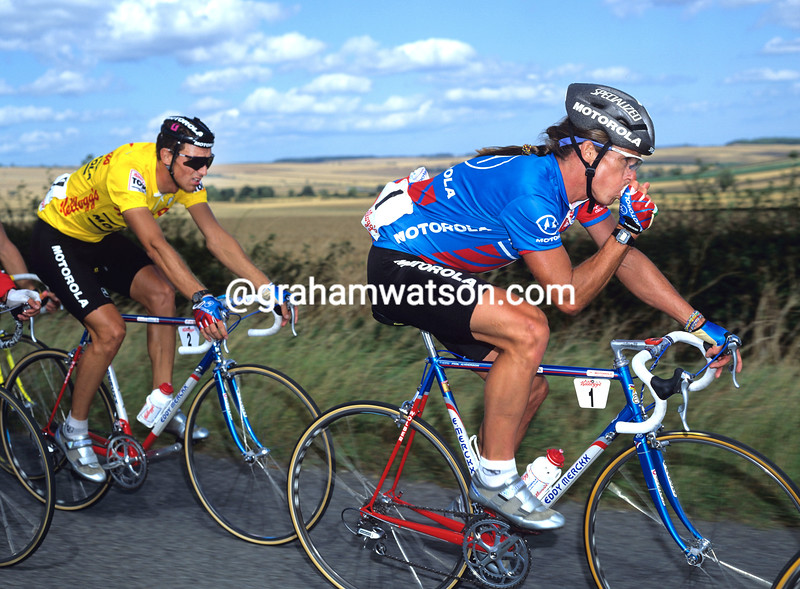 Phil Anderson in the 1988 Kellogg's Tour of Britain