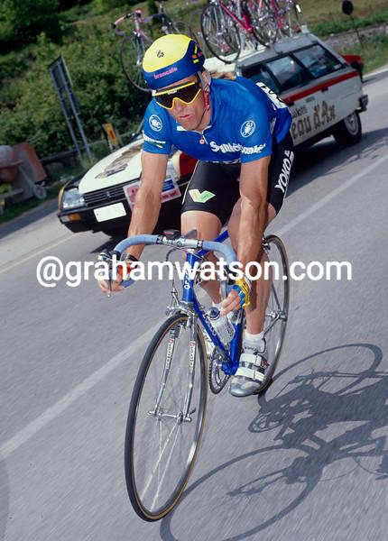 Phil Anderson in the 1993 Giro d'Italia