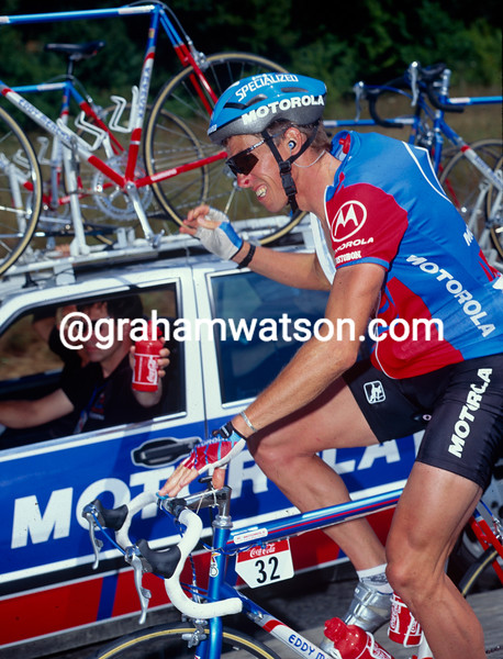 Phil Anderson in the 1993 Tour de France