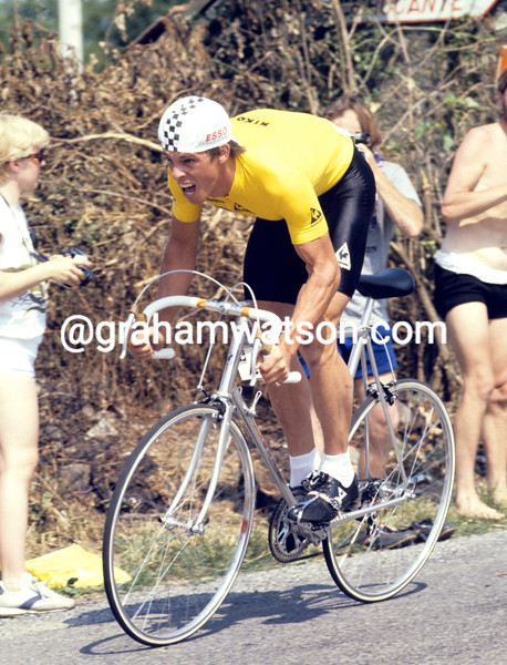 Phil Anderson in the 1981 Tour de France
