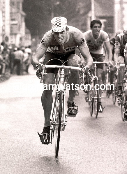 PHIL ANDERSON IN THE 1982 TOUR DE FRANCE