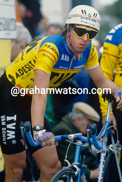 Phil Anderson in TVM colours