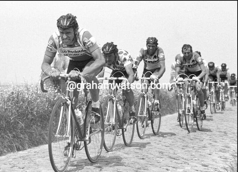 PAUL SHERWEN IN THE 1983 TOUR DE FRANCE