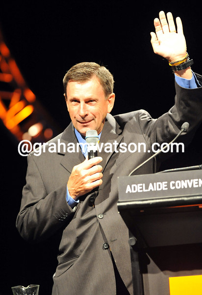 PAUL SHERWEN AT THE LEGENDS NIGHT IN ADELAIDE