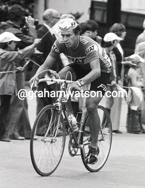 Paul Sherwen in the 1980 Tour de France