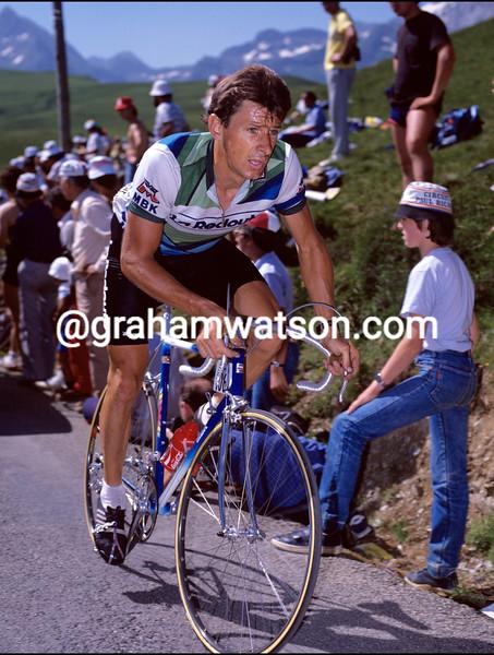 PAUL SHERWEN IN THE 1985 TOUR DE FRANCE