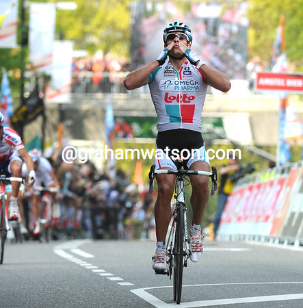 PHILIPPE GILBERT WINS THE 2011 AMSTEL GOLD RACE