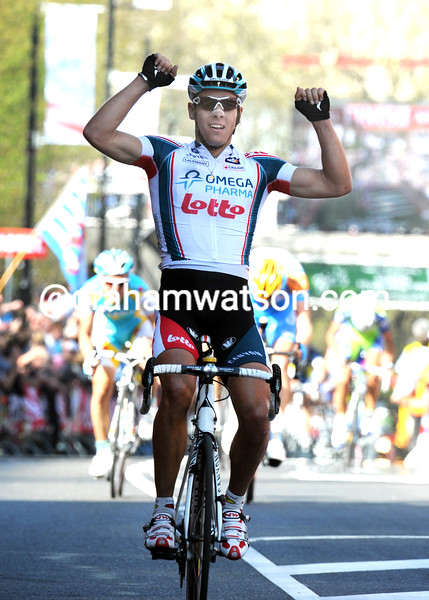 PHILIPPE GILBERT WINS THE 2010 AMSTEL GOLD RACE