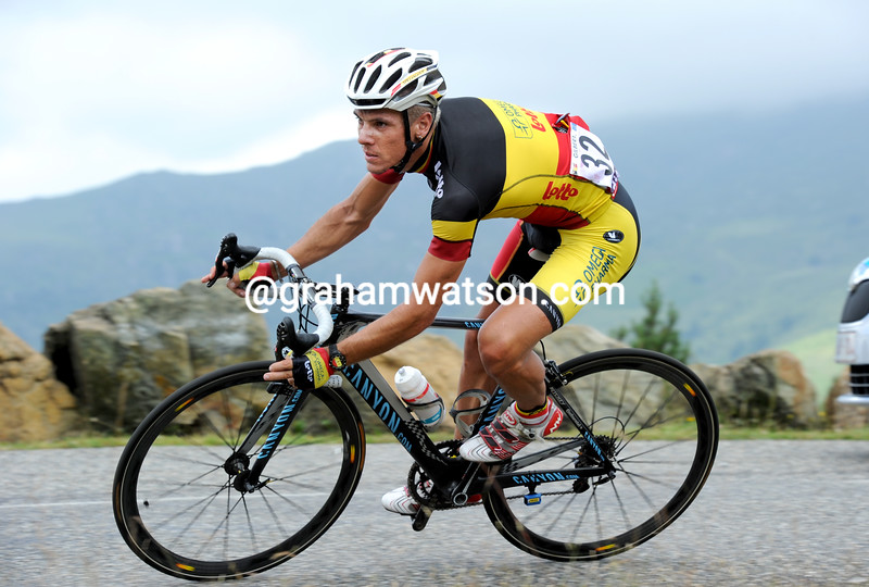 Philippe Gilbert in the 2011 Tour de France