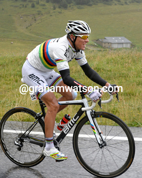 Philippe Gilbert in the 2013 Vuelta a España