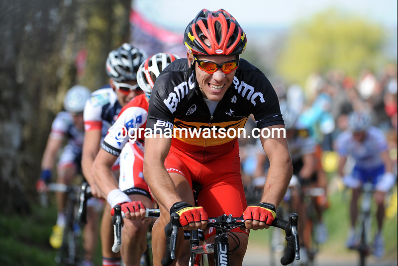 Philippe Gilbert in the 2012 Tour of Flanders