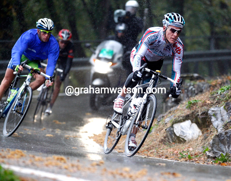 PHILIPPE GILBERT IN THE 2010 GIRO DI LOMBARDIA