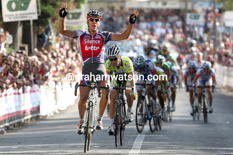 PHILIPPE GILBERT WINS THE G.P. SABATINI