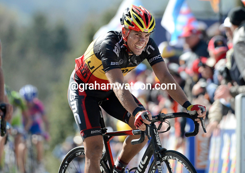 Philippe Gilbert in the 2012 Fleche Wallonne