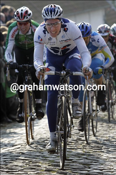 PHILIPPE GILBERT IN THE 2006 OMLOOP HET VOLK