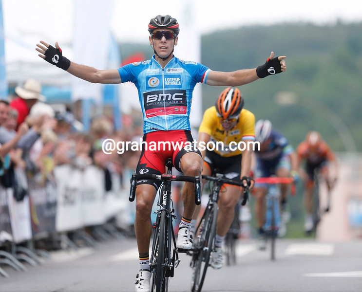 Philippe Gilbert wins stage five of the Tour of Luxembourg