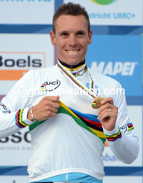 Philippe Gilbert wins the 2012 World Road Race Championships