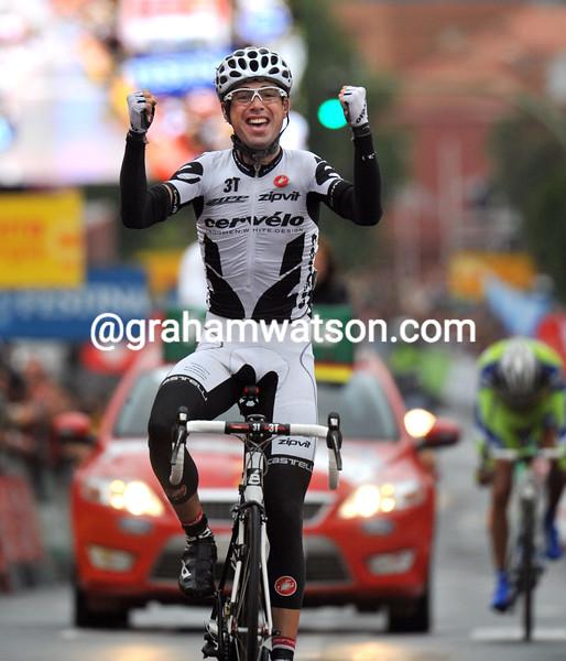 PHILLIP DEIGNAN WINS STAGE EIGHTEEN OF THE 2009 TOUR OF SPAIN