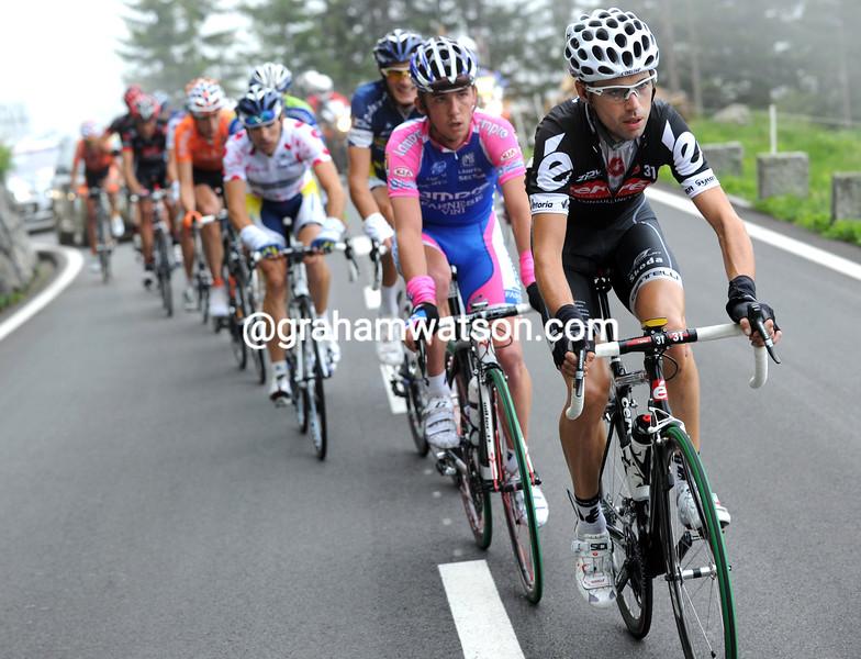 PHILLIP DEIGNAN IN THE 2010 Tour de Suisse