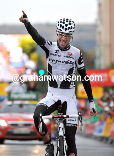 PHILLIP DEIGNAN WINS STAGE 18 OF THE 2009 TOUR OF SPAIN