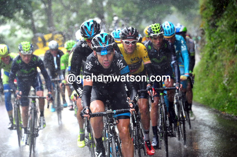 Phillip Deignan on stage six of the 2015 Dauphine-LIbere