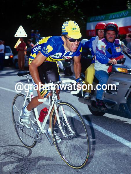 Piotr Ugrumov in the 1993 Giro d'Italia
