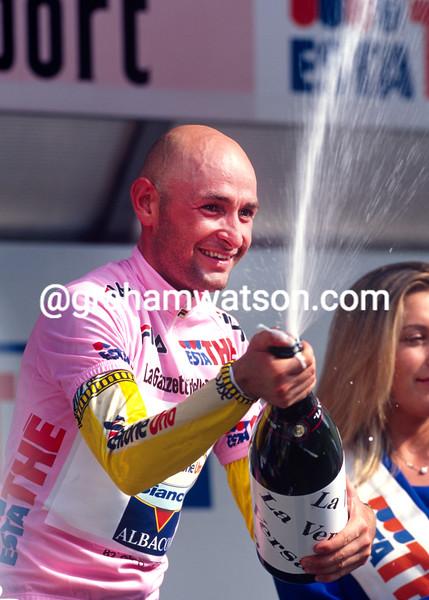 Marco Pantani in the 1998 Giro d'Italia