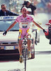 Marco Pantani wins a stage in the 1999 Giro d'Italia