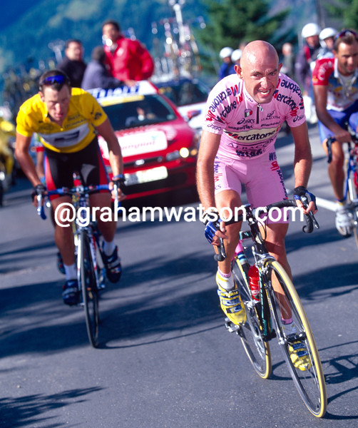 Marco Pantani in the 2000 Tour de France