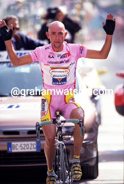 Marco Pantani in the 1999 Giro d'Italia