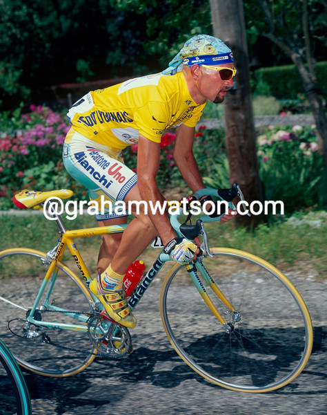 Marco Pantani in the 1998 Tour de France