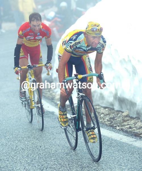 Marco Pantani in the 1999 Giro d'Italia