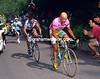 Marco Pantani and Pavel Tonkov in the 1999 Giro d'Italia