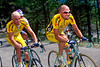 Marco Pantani and Stefano Garzelli in the 2000 Giro d'Italia